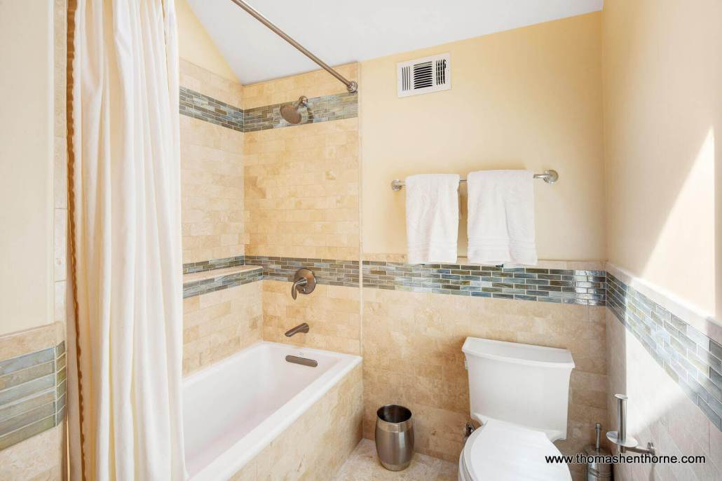 Shower tub combination and toilet