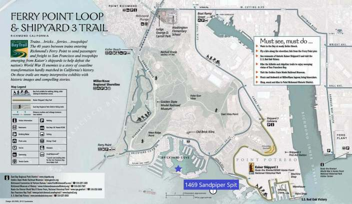 Point Richmond Map