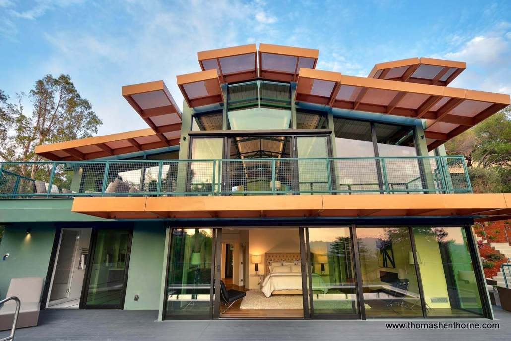 two story home in marin county