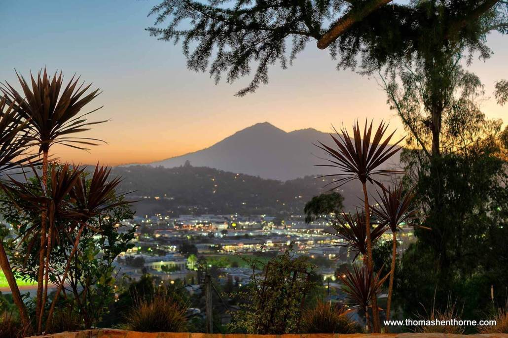View of Mt. Tamalpais from 94 Deer Park Avenue in San Rafael