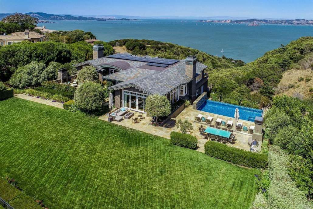 193 Gilmartin Drive Tiburon marin home sold in 2020