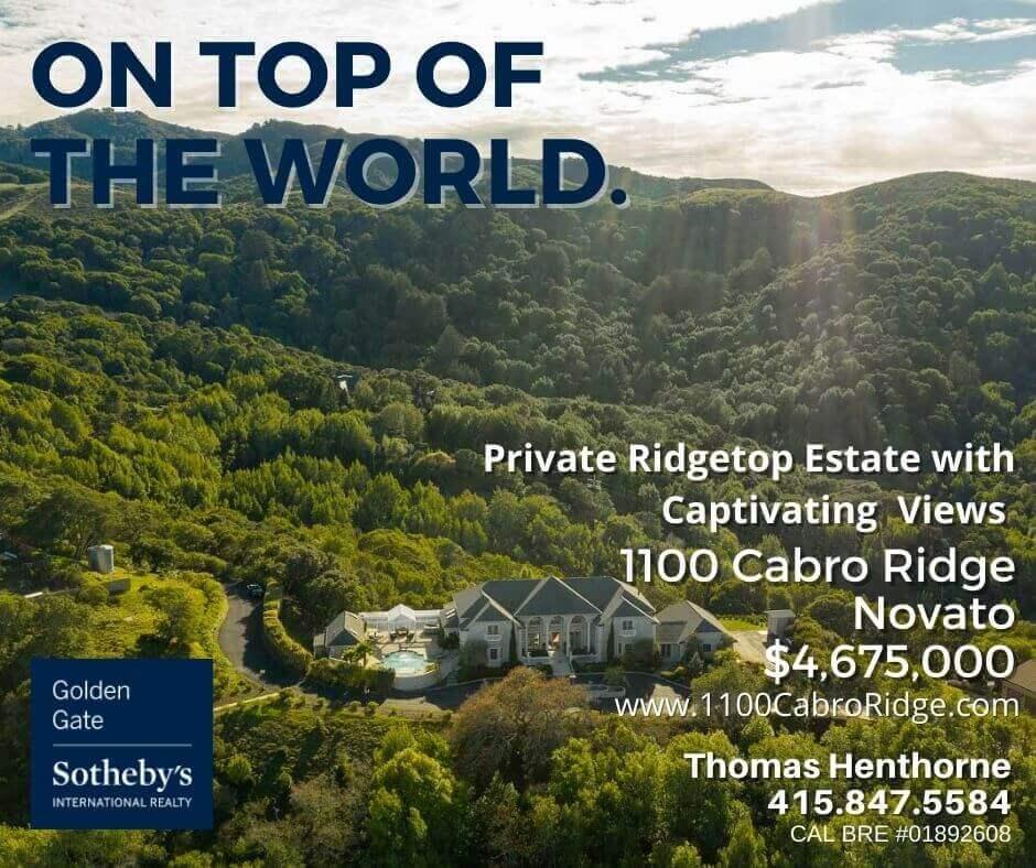 1100 Cabro Ridge Novato banner