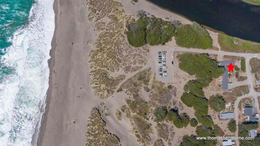 3005 Maryanna Drive Bodega Bay aerial view