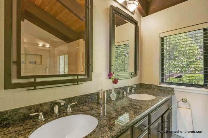 dual sinks in vanity