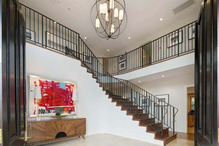 entry foyer of home
