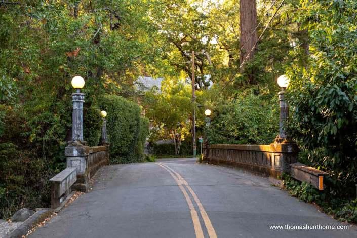 bridge in Ross, California