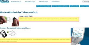 doyoupoken.com Screenshot Mehrsprachigkeit