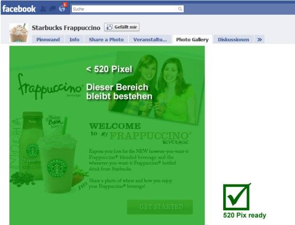 Starbucks Frappuccino - 2.217 Mio Fans - 520px ready