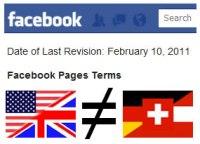 Richtlinien für Facebook Seiten