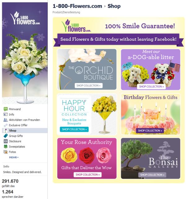 Shop von 1-800-Flowers.com