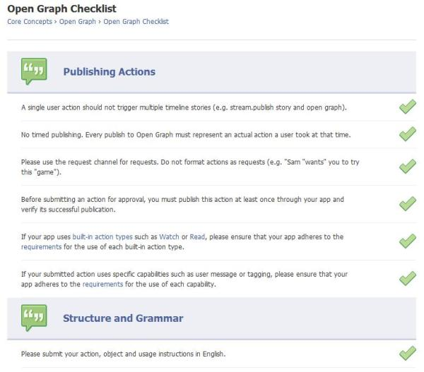 Open Graph Checklist