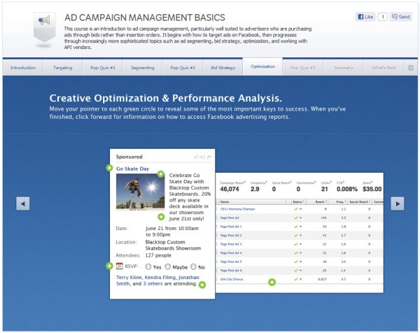 Ad Campaign Management Basics - Optimization