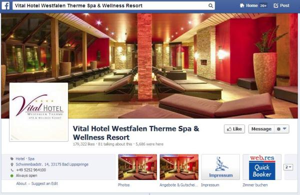 Vital Hotel Westfalen Therme Spa & Wellness Resort