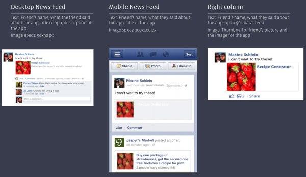 Facebook App Shared Sponsored Story