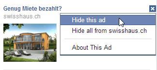 Werbeanzeige melden