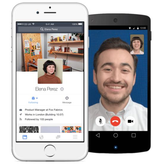 Facebook at Work für iOS und Android (Quelle: Facebook)