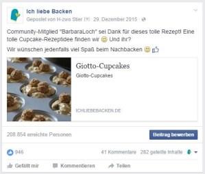 """Screenshot von """"Ich liebe Backen"""""""