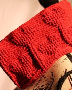 Valentine's Day Free Crochet Cowl Pattern
