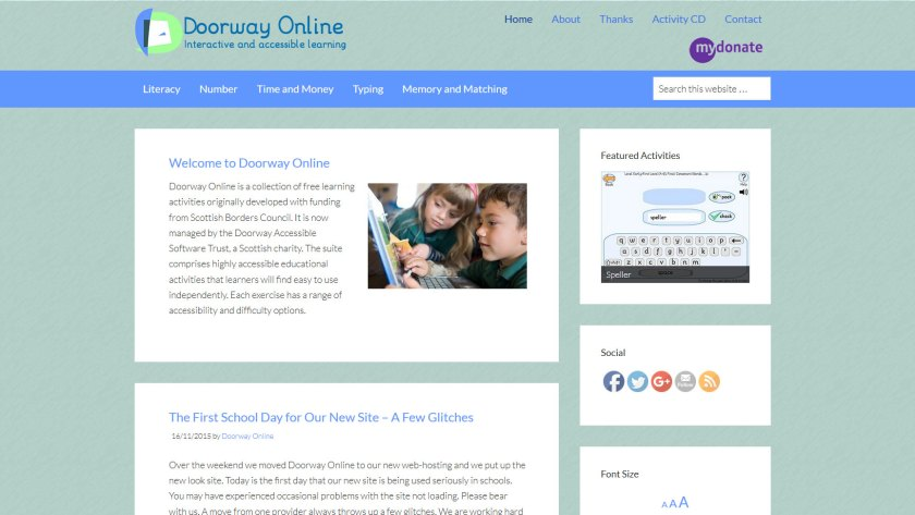 www.DoorwayOnline.org.uk