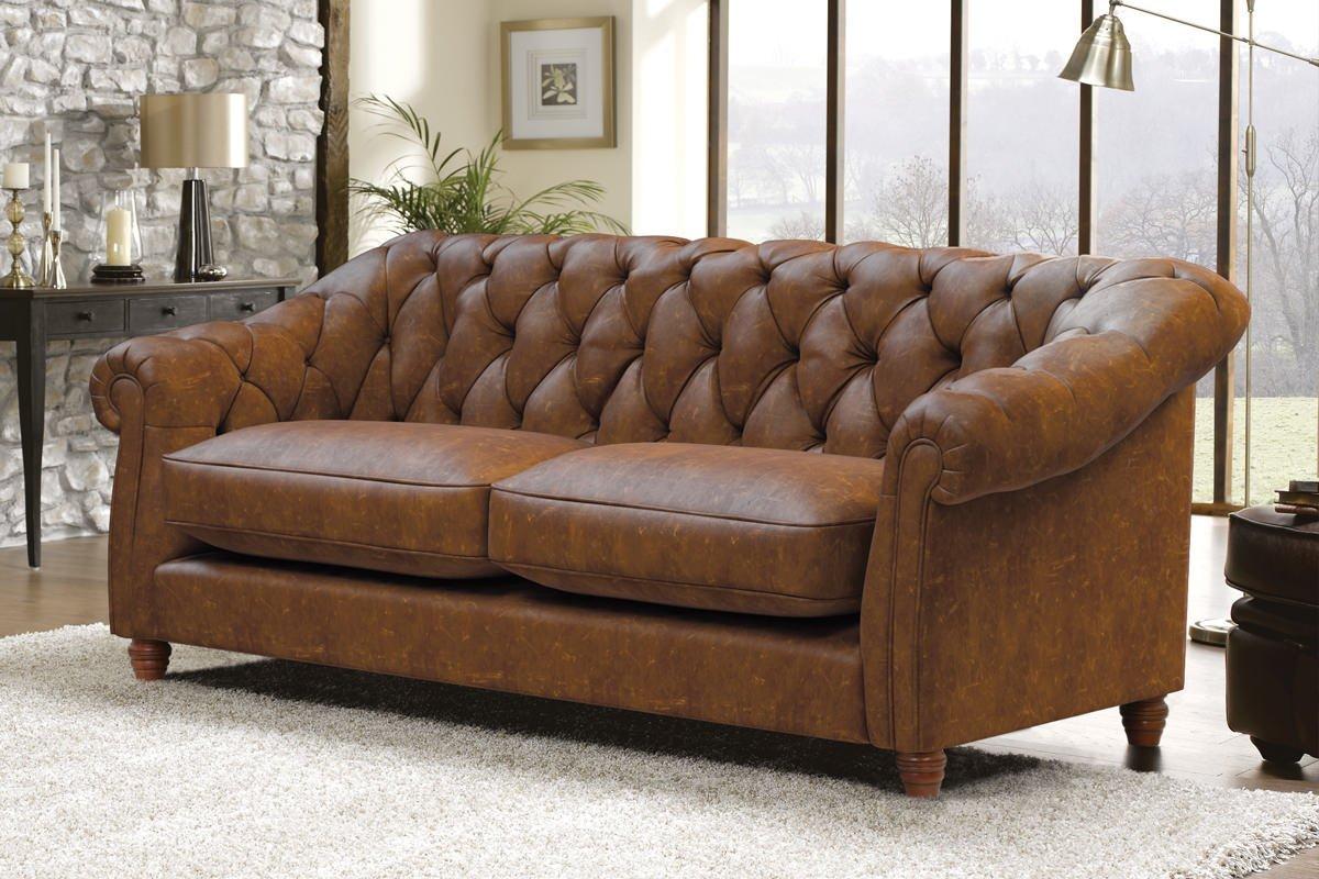 Belgravia 2 Seater Leather Sofa