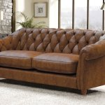Belgravia 3 Seater Leather Sofa