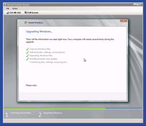 Windows Server 2008 R2 Upgrade