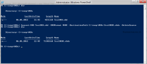 Convert VHD to VHDX via PowerShell