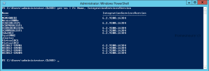Windows Server 2012 Hyper-V Integration Services PowerShell
