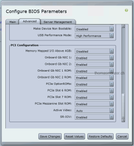 SR-IOV Cisco C200 M2