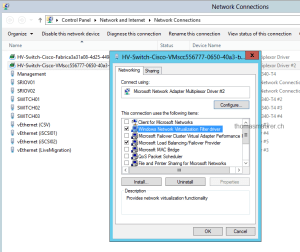 Windows Network Virtualization Filter driver