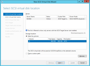 iSCSI Virtual Disk 02