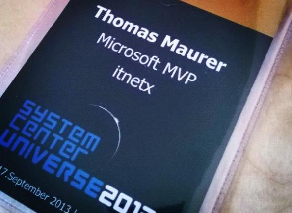 System Center Universe Europe 2013