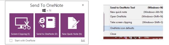 Send to OneNote
