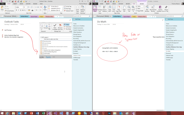 Multipe OneNote Windows