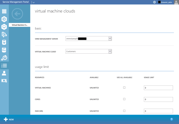 WAP VM Cloud Plan
