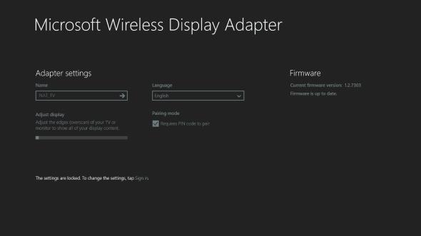 Microsoft Wireless Display Adapter App