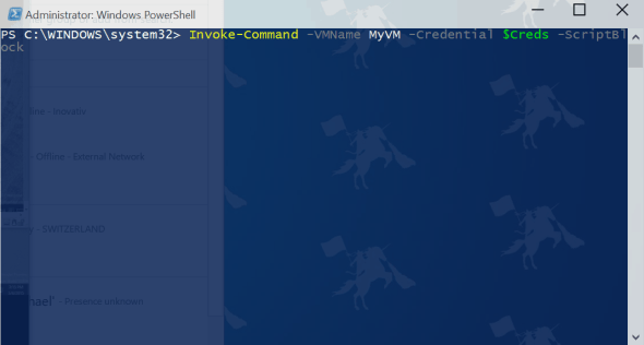 Hyper-V PowerShell Direct