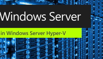 Hyper-V VM configuration version supported features - Thomas