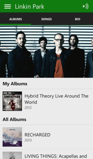 Xbox Music Andorid