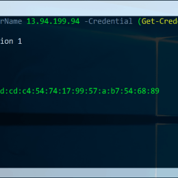 PowerShell SSH Session