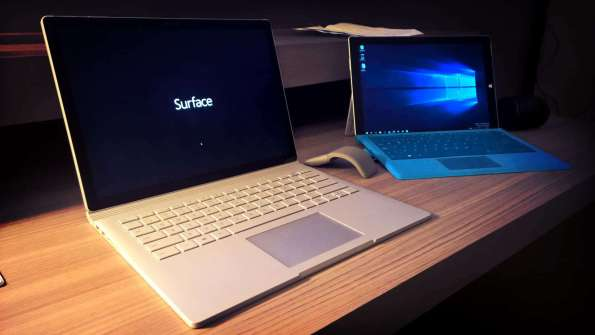 Surface Pro and Surface Book