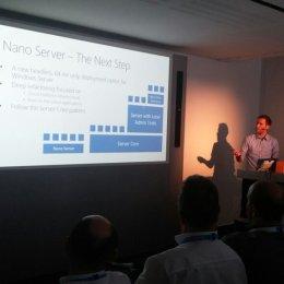 VCNRW Nano Server and Container