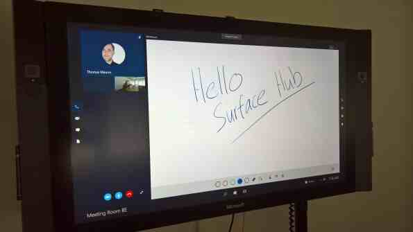 Surface Hub Whiteboard