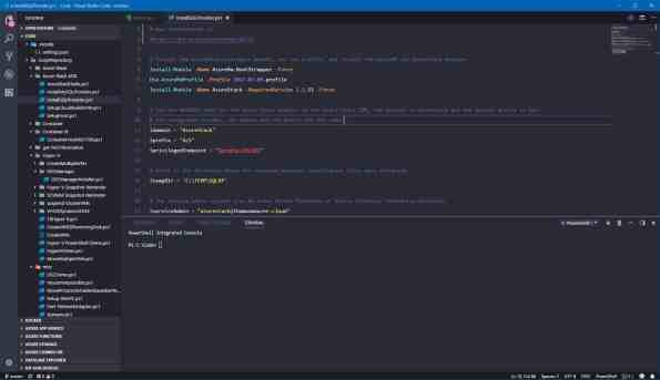Visual Studio Code Theme Dracula