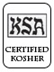 Kosher Certified - Supervision of America