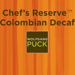 Wolfgang Puck Chef's Reserve Colombian Decaf