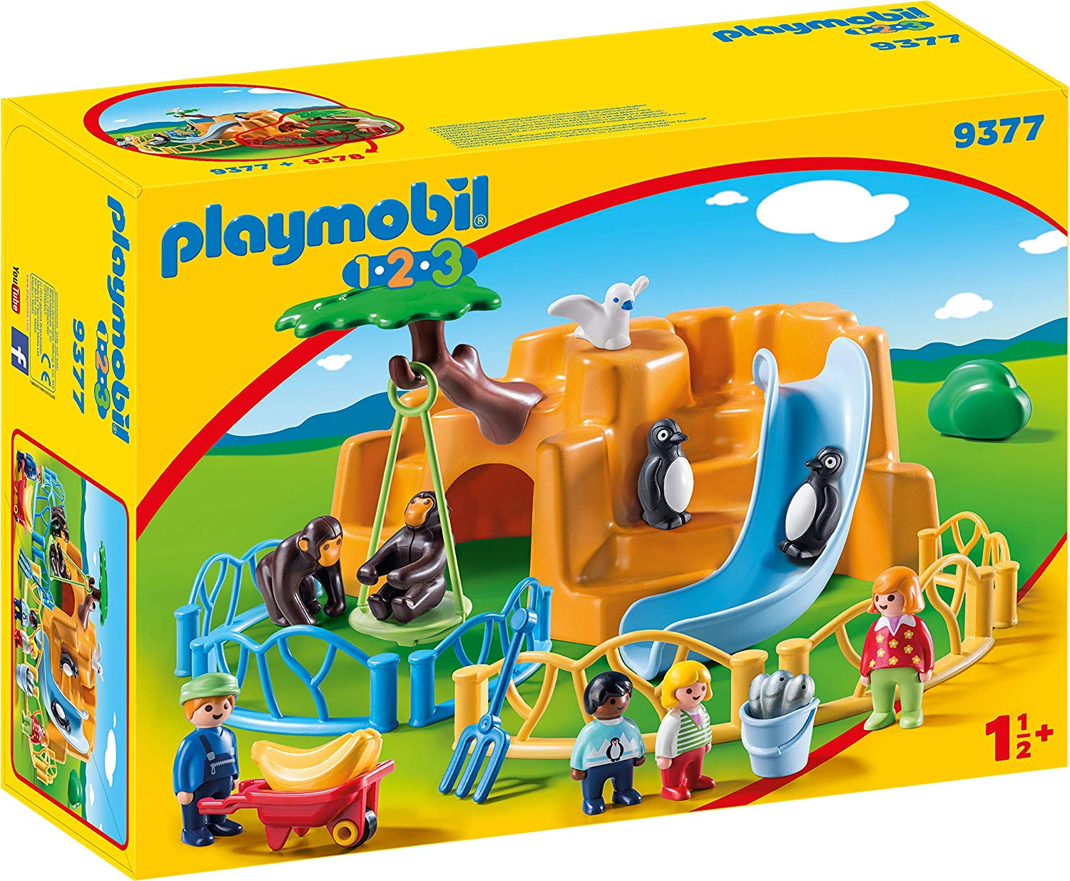 Playmobil 1 2 3 Zoo With Penguin Enclosure Thomas Moore