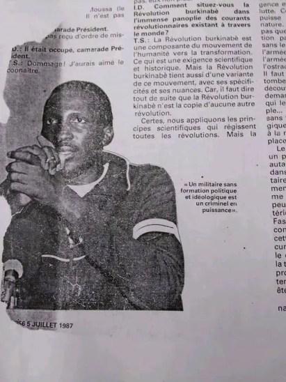 Interview Ivoire Dimanche
