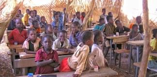 Une école au Burkina