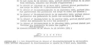 Document demandant la reprise des dégagés